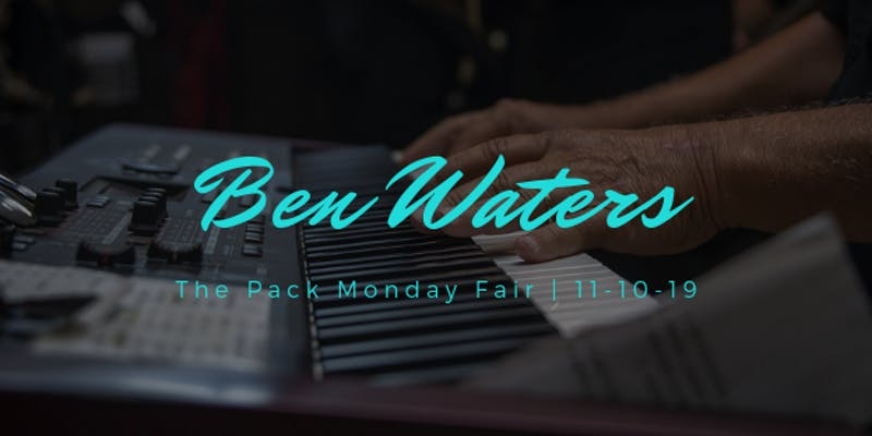 Ben Waters Tickets still available